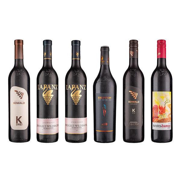Rotwein Vielfalt